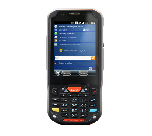 Point Mobile PM60 15 Windows CE El Terminali (Wifi, Bt, 1D, 4000 mAh)