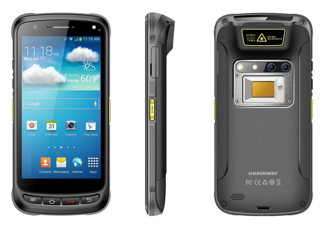 Chainway C71 Android El Terminali (Wifi, Bt, Gps, 4G, 2D, 5000 mAh)